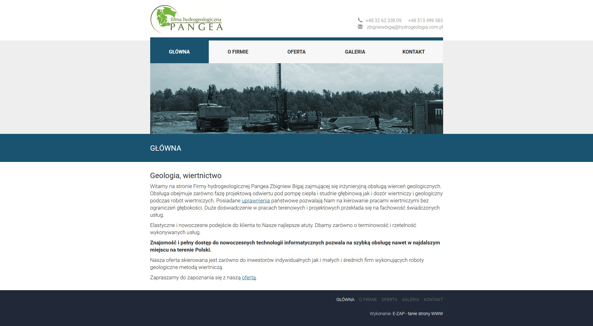 Pangea - firma hydrogeologiczna
