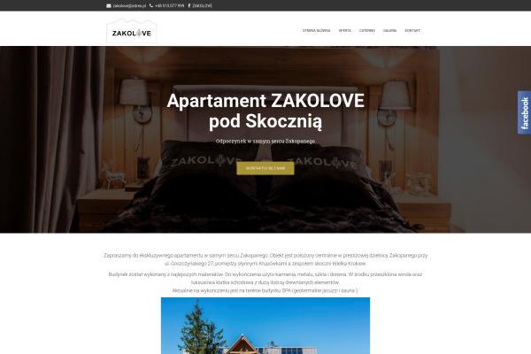 Apartament ZAKOLOVE pod Skocznią
