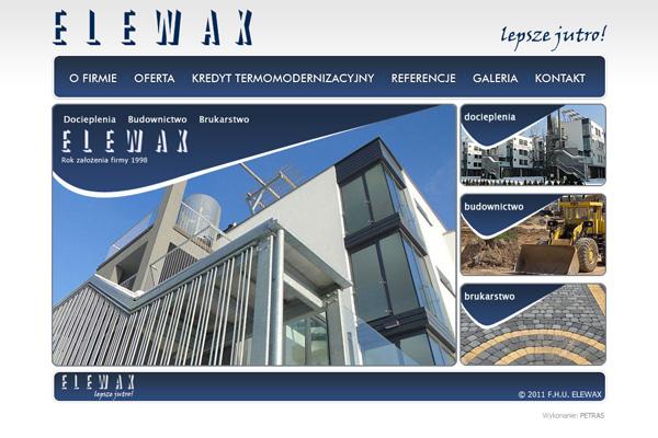 ELEWAX - docieplenia, budownictwo, brukarstwo.