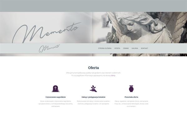 Memento - sprzątanie grobów, opieka nad grobami