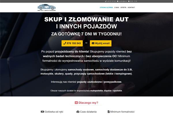 Skup i złomowanie samochodów i innych pojazdów