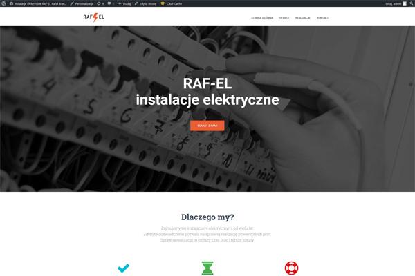 RAF-EL - Instalacje elektryczne