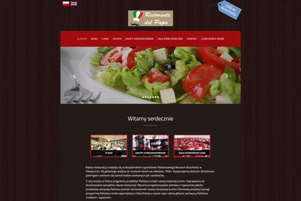 Ristorante del Papa - Restauracja, pizzeria